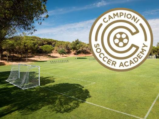 Pine Cliffs Resort Soccer Camp Vacation with Campioni